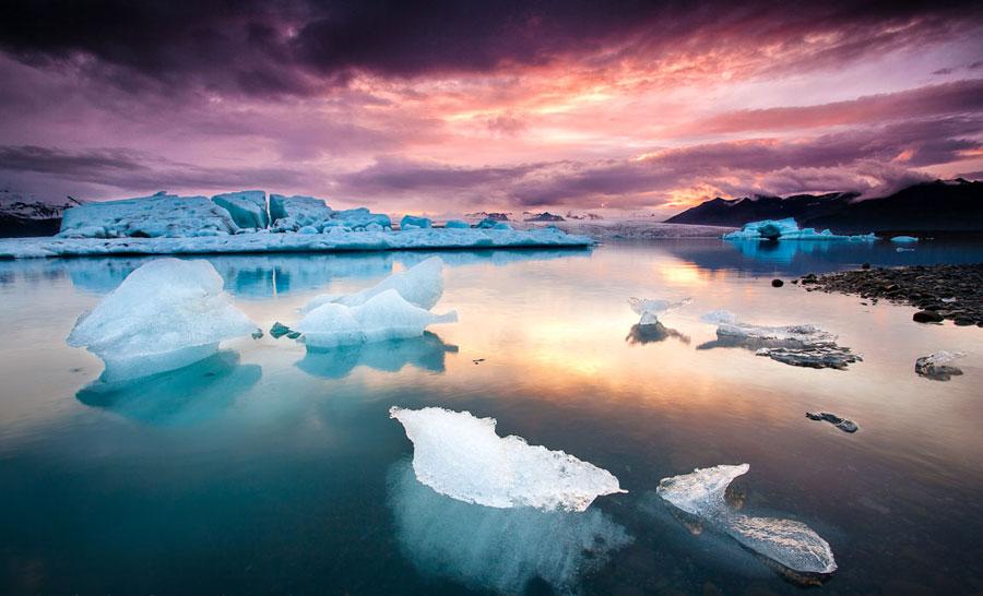 Islandia desde una roca: contemplando el fin del mundo Playas del mundo