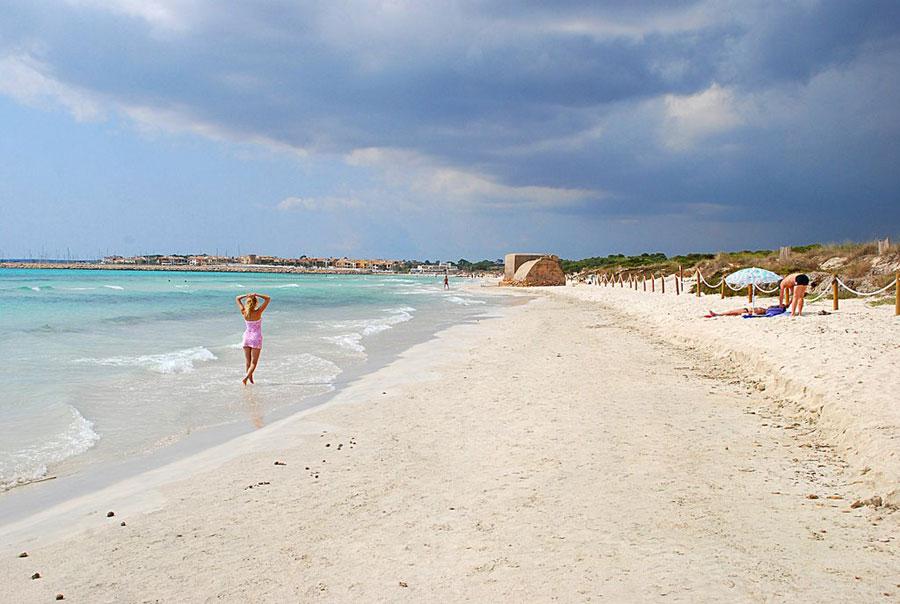 Es Trenc, uno de los paraísos de Mallorca