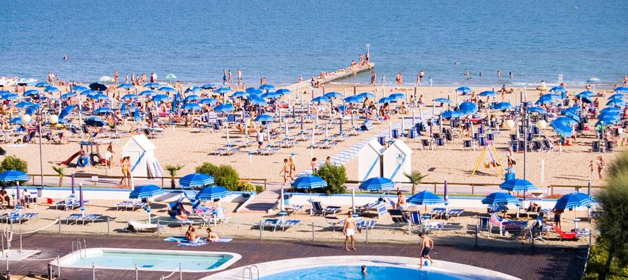 Playas de El Lido de Jesolo Playas del mundo