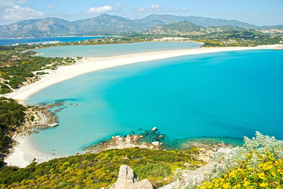 Playas de Villasimius Playas del mundo