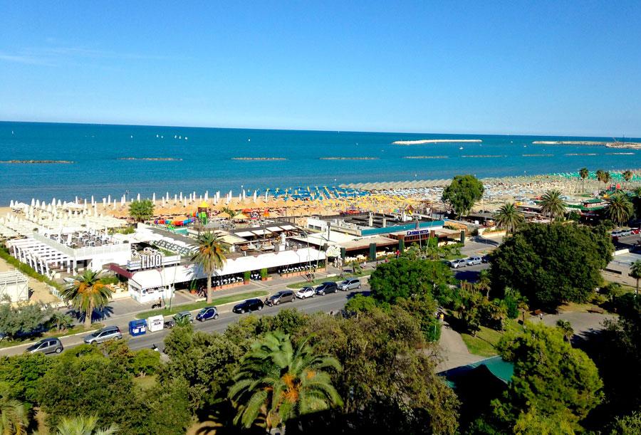 Playas de Pescara Playas del mundo
