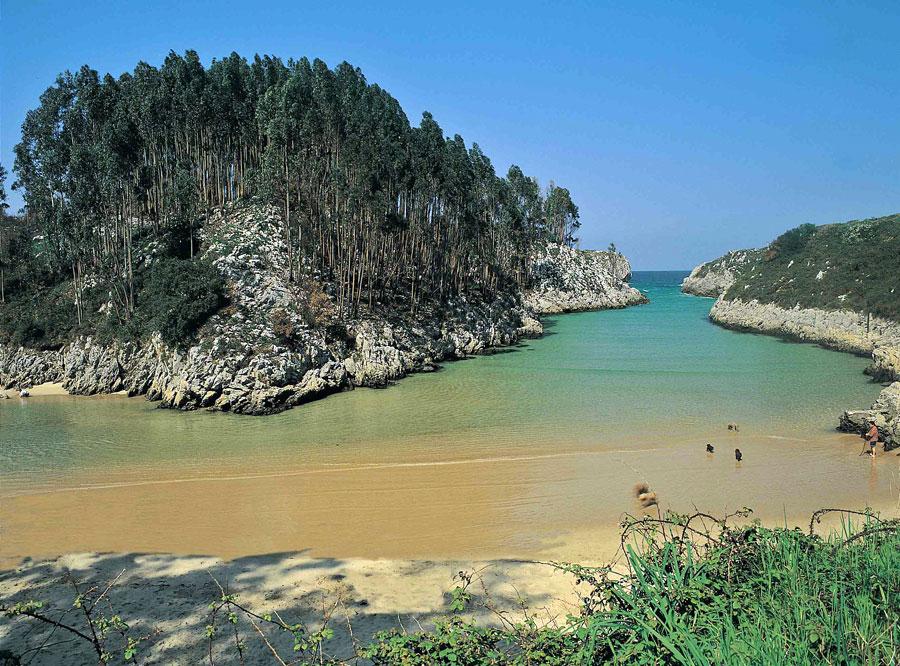 Playa de Villanueva de Pria en Llanes Playas del mundo
