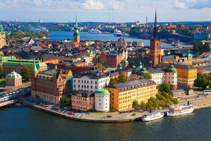 Turismo en Suecia Playas en el mundo