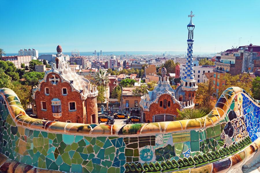 Visita al Park Güell de Barcelona Playas del mundo