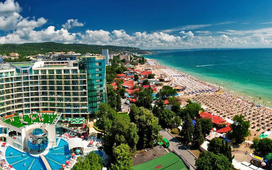 Playas de Zlatni Pyasatsi Playas del mundo