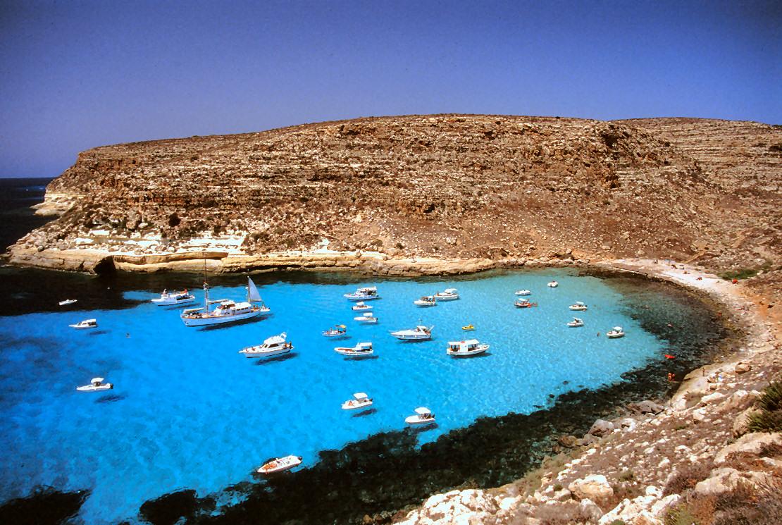 La Isla de Lampedusa