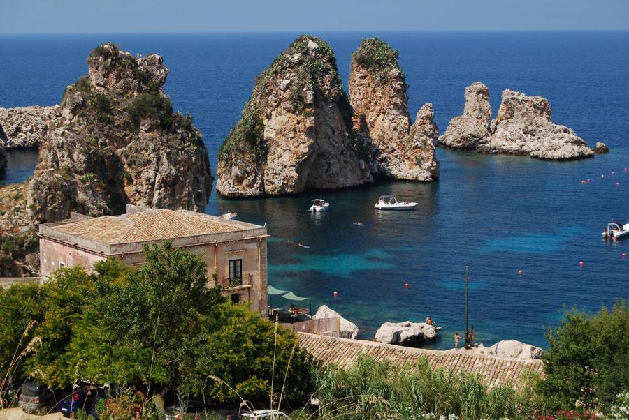Playas de Scopello Sicilia Playas del mundo