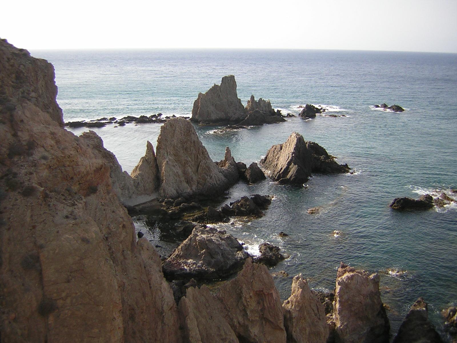 Cabo de Gata parque natural de Almer�a Playas del mundo