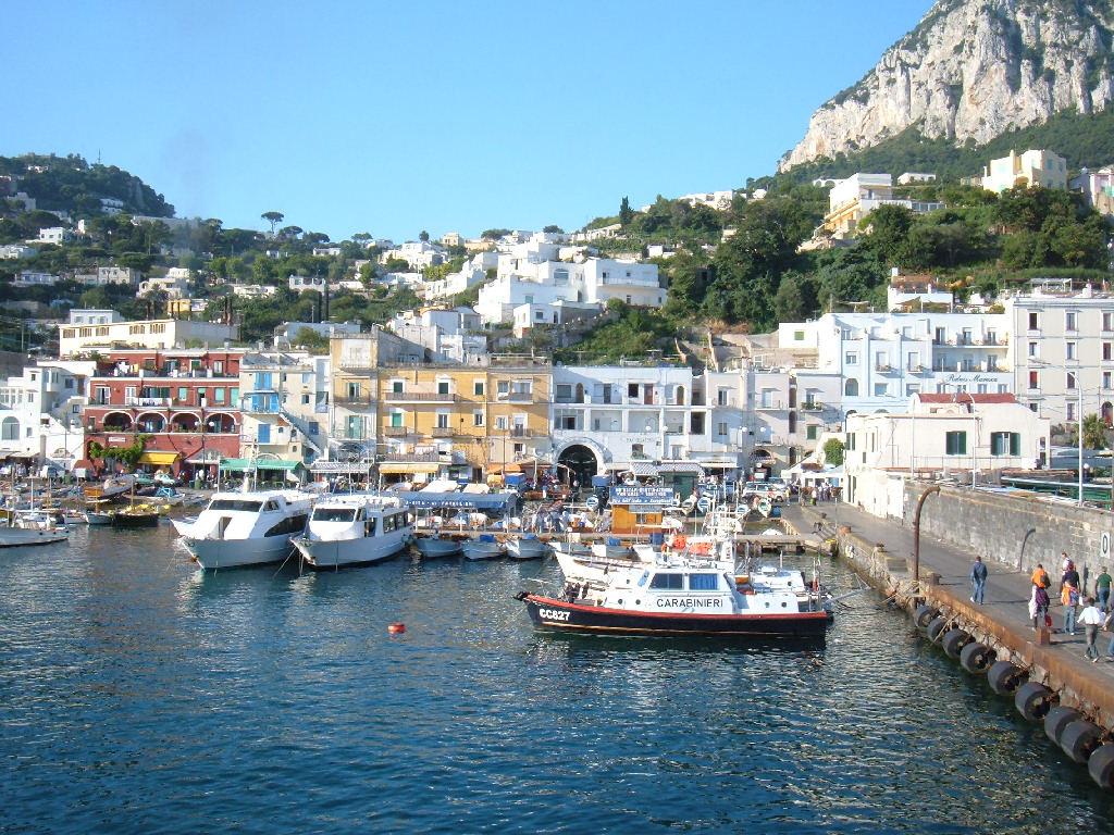 Las islas del Golfo de Nápoles: Procida, Capri, Isquia