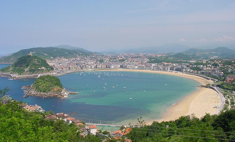 San Sebastián y la Bahía de la Concha