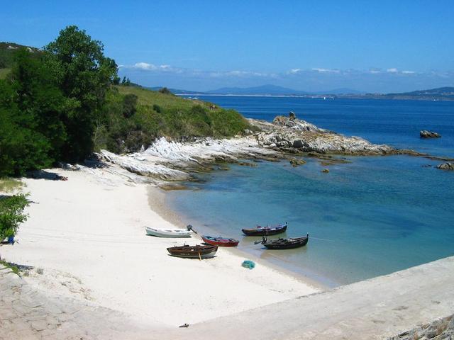 Playas de Isla de Ons Playas del mundo