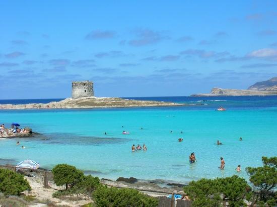 Playas de La Pelosa Cerde�a Playas del mundo