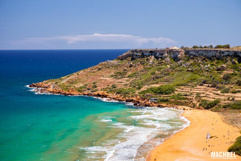 Bahía de Ramla Gozo