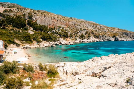 Playa de Bonj Isla de Hvar