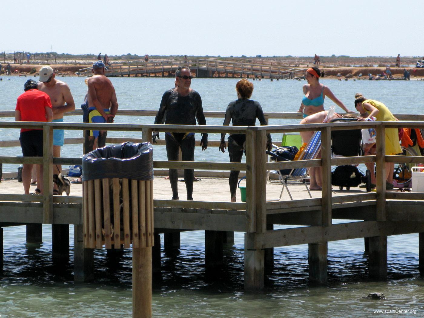 Los lodos y las salinas de San Pedro del Pinatar Espa�a Playas del mundo