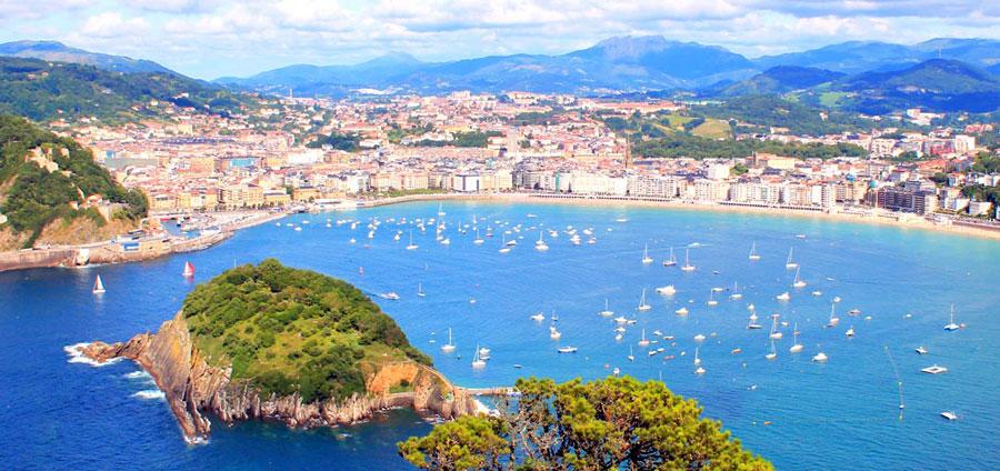 San Sebasti�n, una ciudad de lujo Playas del mundo