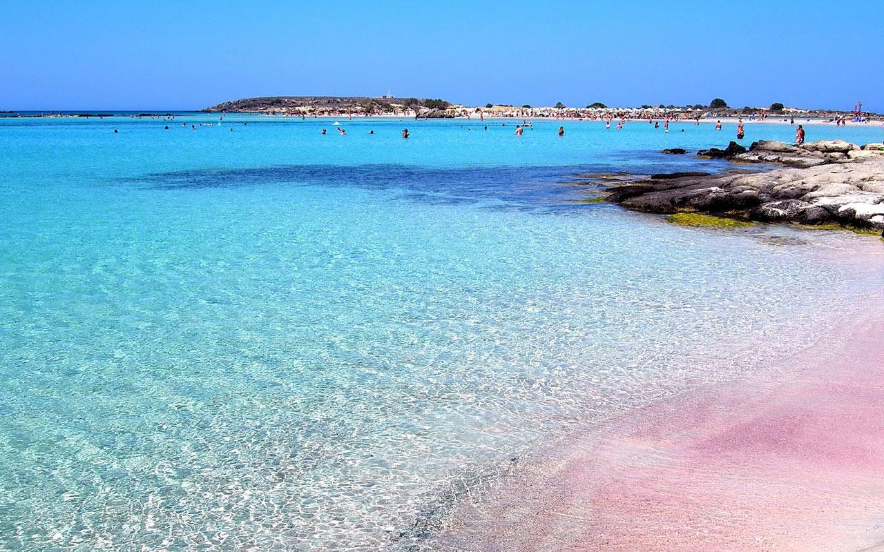 Playa de Elafonisi Playas en el mundo