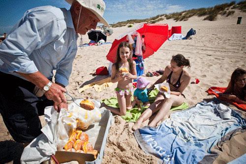 Bolinhas de Berlim, un dulce típico de las playas portuguesas Playas en el mundo