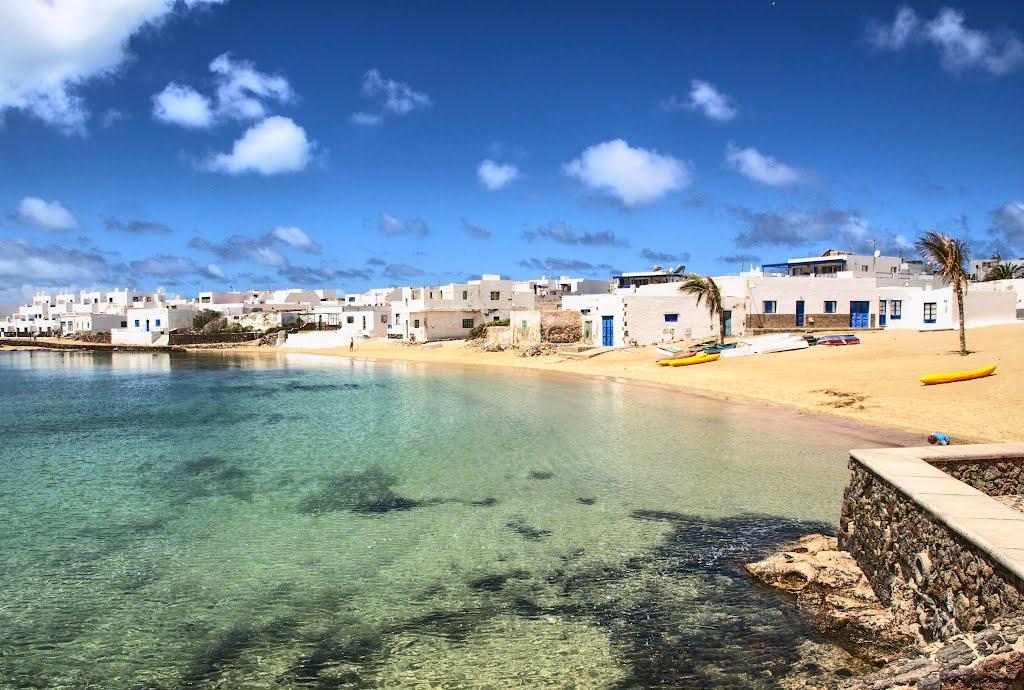 Playas de Isla la graciosa Canarias Playas del mundo