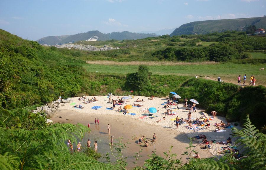 La playa m�s peque�a del mundo est�... en Espa�a Playas del mundo