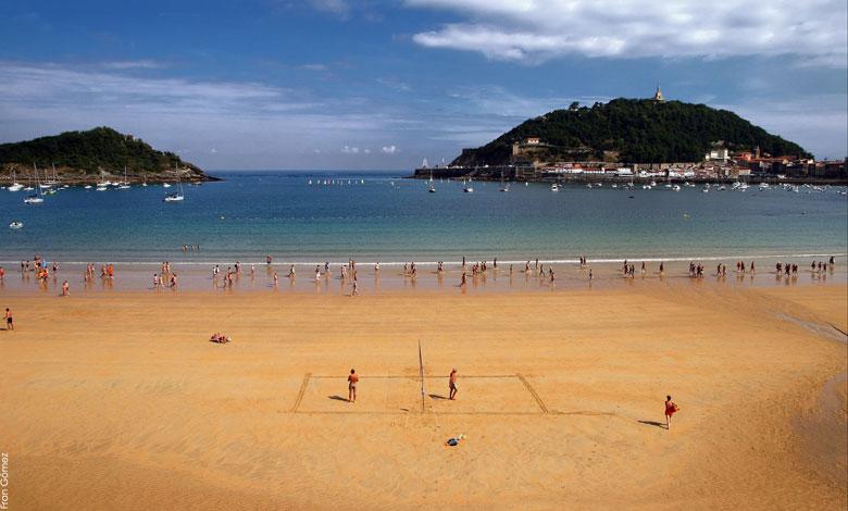 San Sebastián y su bonita playa de la Concha Playas del mundo
