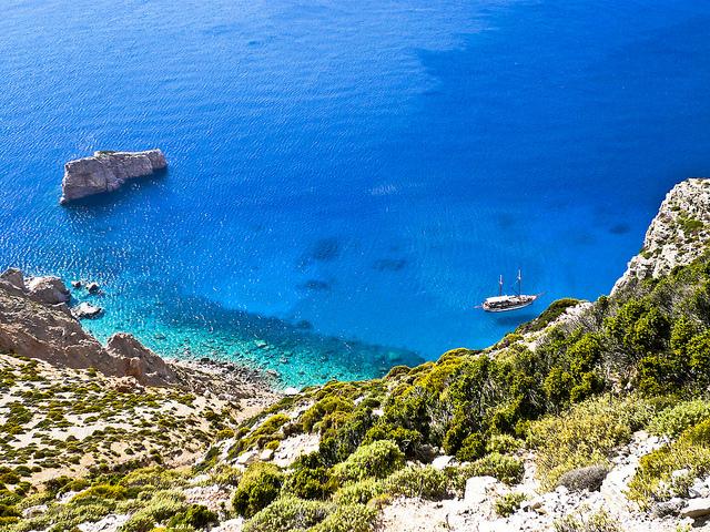 10 rincones de Grecia donde el mar parece una piscina natural Playas del mundo