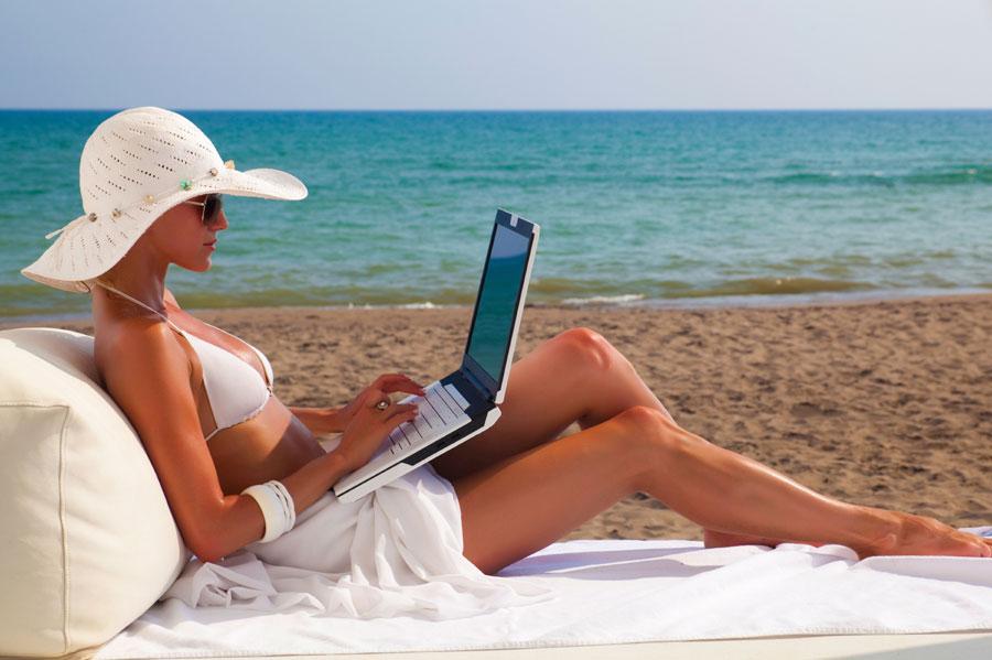 El wifi gratuito llega a las playas de Espa�a Playas del mundo