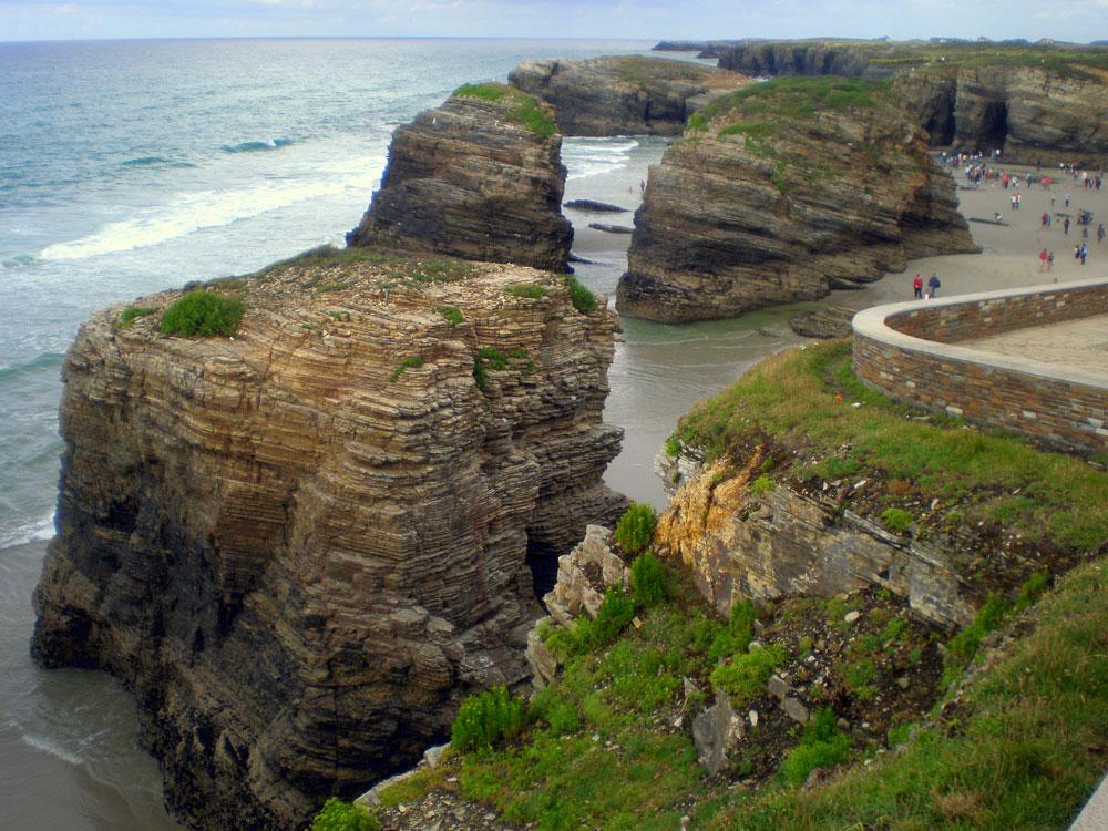 Playa de las Catedrales, Lugo Playas en el mundo