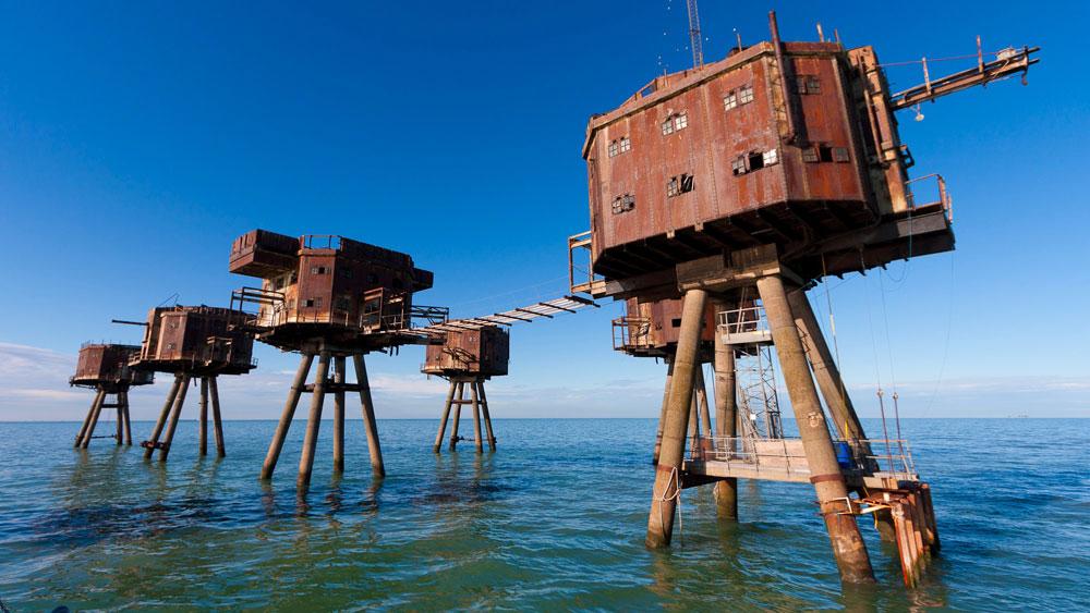 Las diez fortalezas marinas m�s impresionantes del mundo Playas del mundo