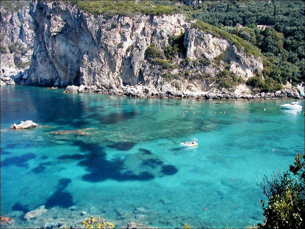 Corf�, la isla cultural griega Playas del mundo