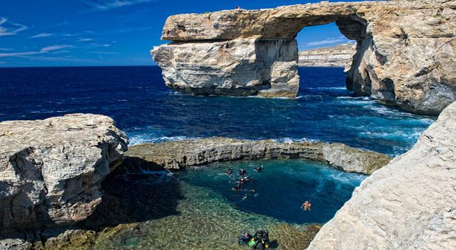 Liberarse del estr�s en la isla de Gozo Playas del mundo