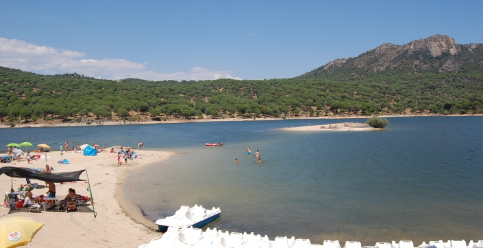 Playas espa�olas lejos del mar Playas del mundo