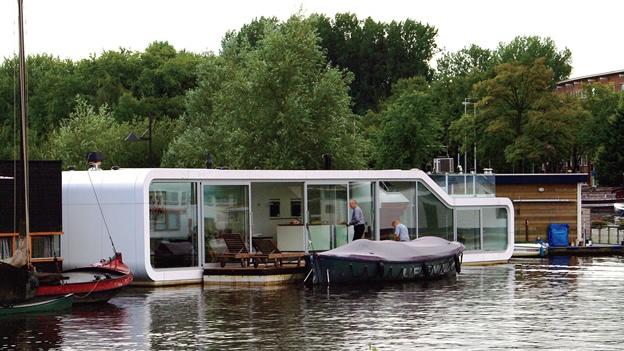 Casas flotantes en el Distrito del Agua de Amsterdam Playas del mundo