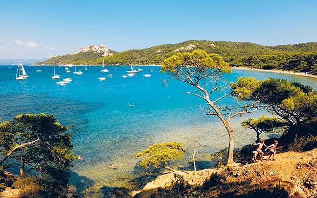 Porquerolles, un peque�o para�so insular en el Mediterr�neo Playas del mundo
