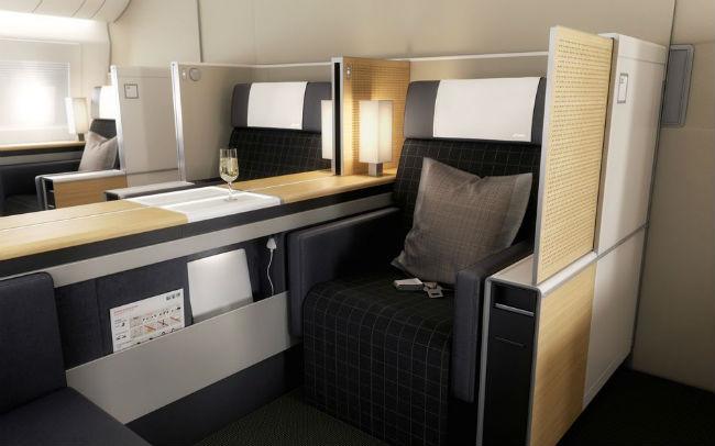 Suiza mejora los asientos de las aeronaves