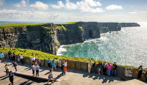 De viaje por la hermosa costa salvaje del oeste de Irlanda