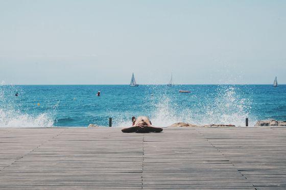 Salou, placer acu�tico en Espa�a Playas del mundo