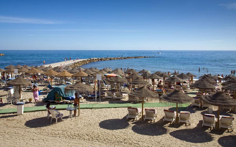 Playas de Marbella Playas del mundo