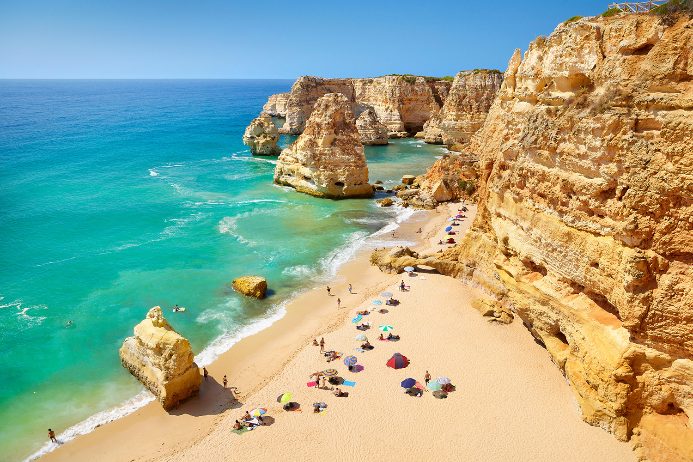 Praia da Marinha Carvoeiro Playas en el mundo