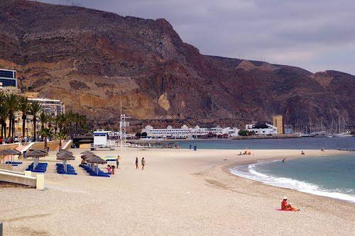 Playas de Roquetas de Mar Playas del mundo